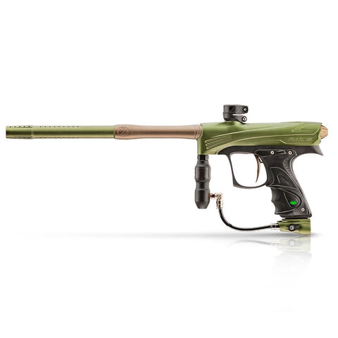 Dye CZR Electronic Paintball Gun - Olive / Tan