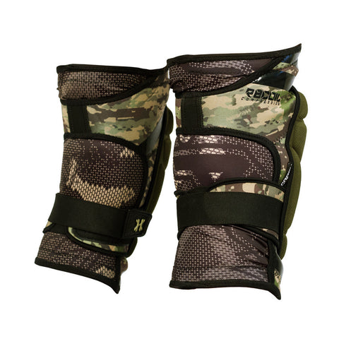 Camo Crash Knee Pads - Punishers Paintball