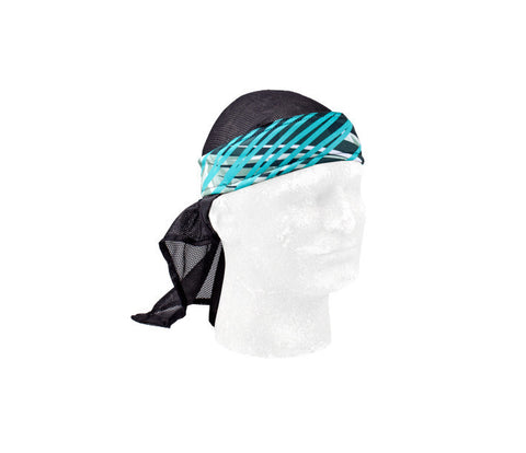 Chaos Teal Headwrap - Punishers Paintball