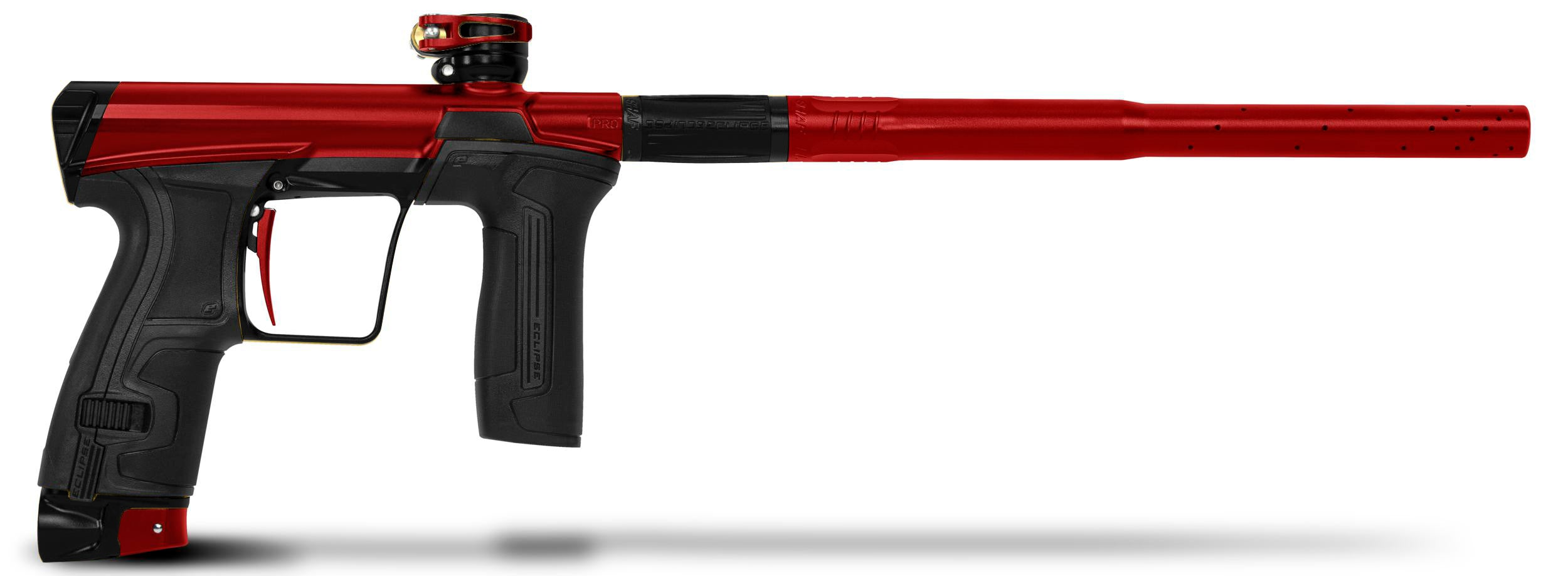 Planet Eclipse CS2 Pro Paintball Marker - Red / Black