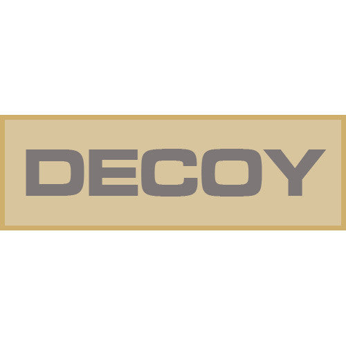 Decoy Patch Small (Tan) - Punishers Paintball