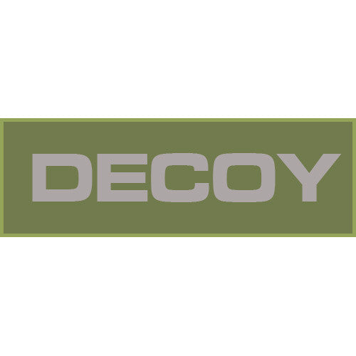 Decoy Patch Small (Olive Drab) - Punishers Paintball