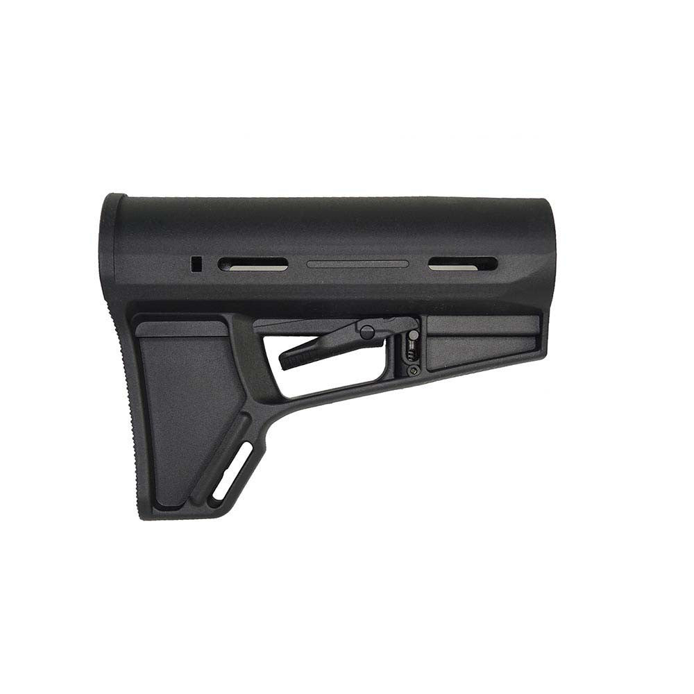 DMA Butt Stock (Black) - Punishers Paintball