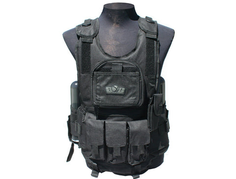Gen X Global Deluxe Tactical Vest - Black