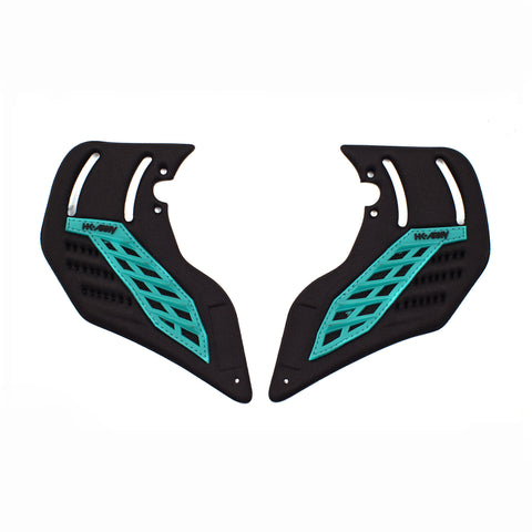 Foam Ear Teal - Punishers Paintball