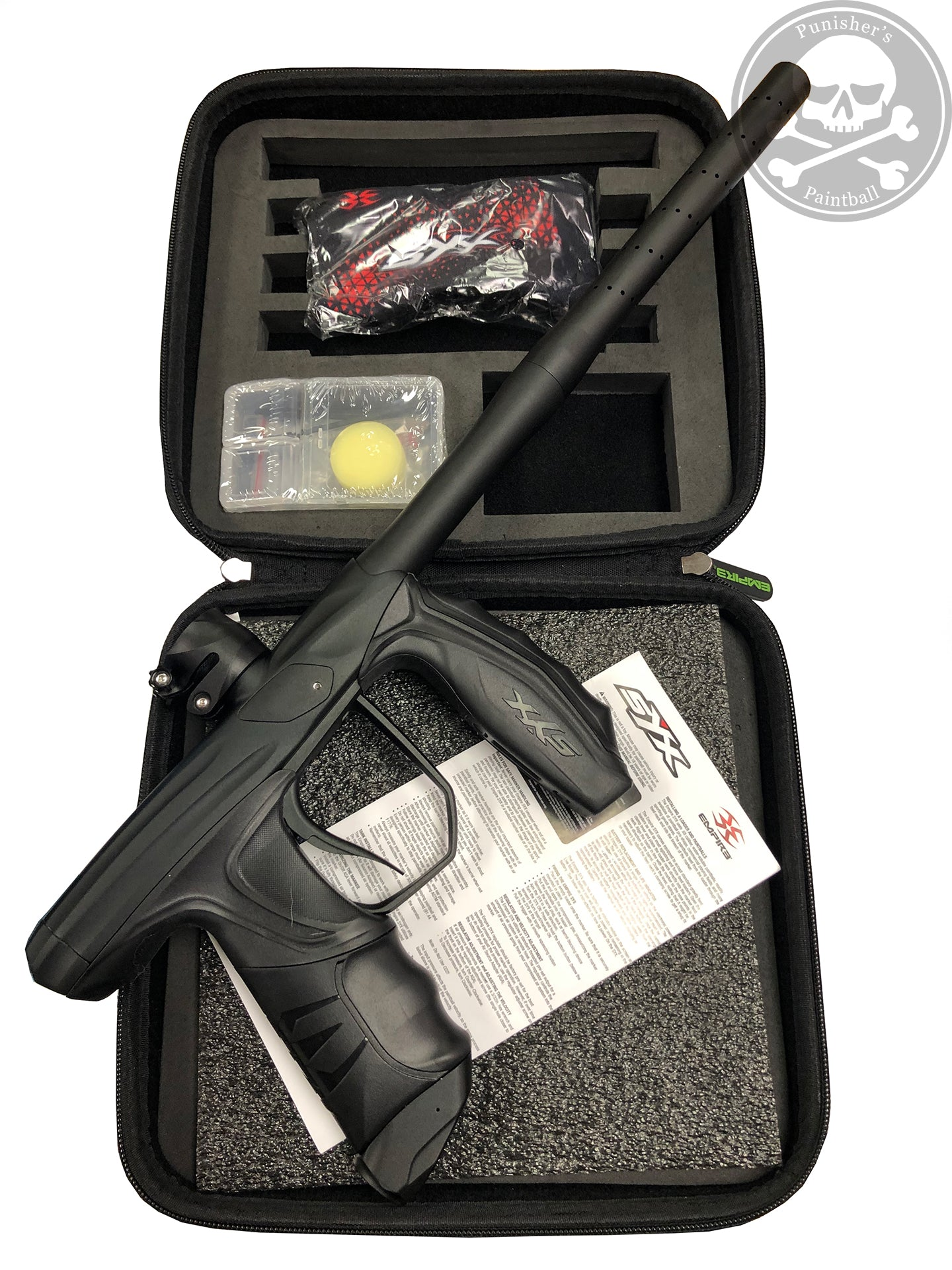 Used Empire Syx Paintball Gun - Black