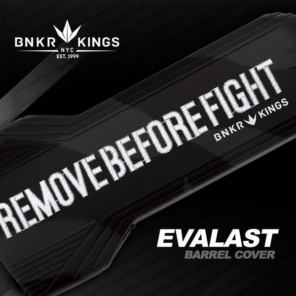 Evalast Paintball Barrel Cover - Remove Before Fight Black