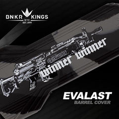 Evalast Barrel Cover - Winner Winner Black