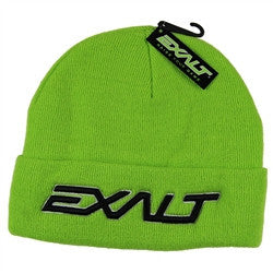 Exalt BOLD Paintball Beanie - Lime