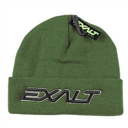 Exalt BOLD Paintball Beanie - Olive