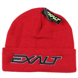 Exalt BOLD Paintball Beanie - Red
