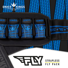BunkerKing Fly Pack 4+7 Blue Laces