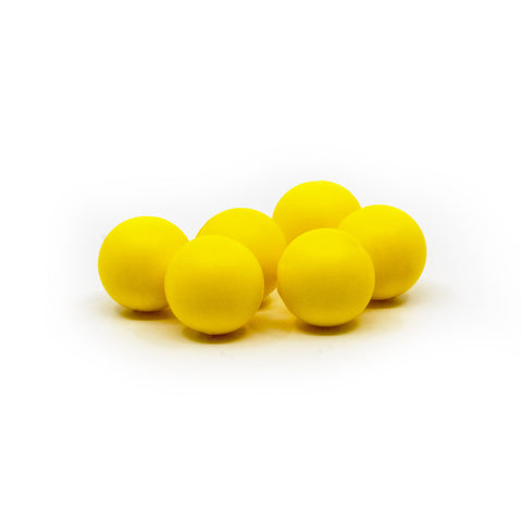 Valken Paintball Gotcha Reusable Soft Foam Paintballs 0.50 Cal - Neon Yellow - 500 Count