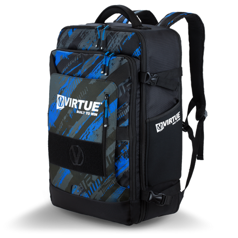 Virtue Gambler Backpack Gear Bag - Cyan