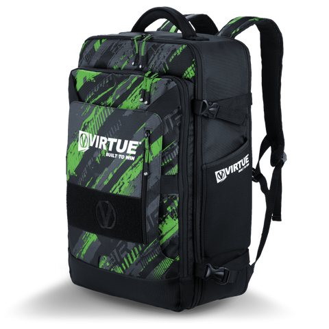 Virtue Gambler Backpack Gear Bag - Green