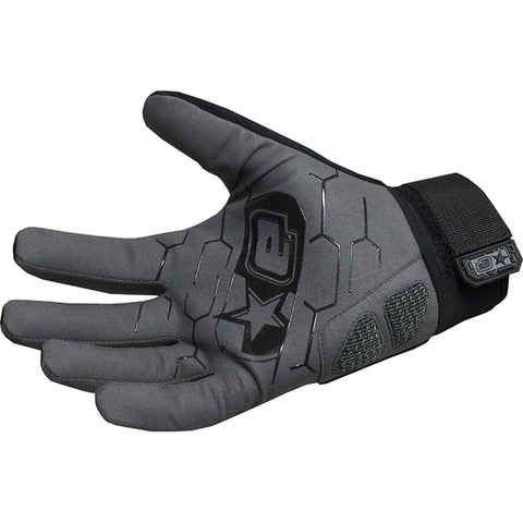 Planet Eclipse Distortion Full Finger Gloves - Black