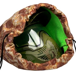 Exalt Goggle Bag- Microfiber- Pizza