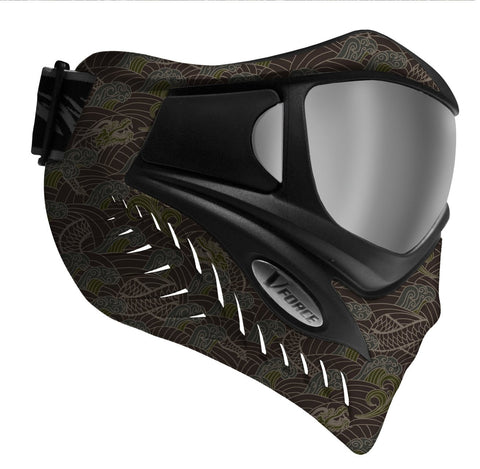 V-Force Grill Paintball Mask - Dragon Fury SE