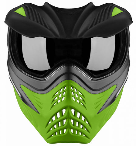 V-Force Grill Paintball Mask Thermal SC - Grey on Lime Bundle