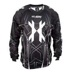 HSTL Line Jersey - Black/Grey - Punishers Paintball