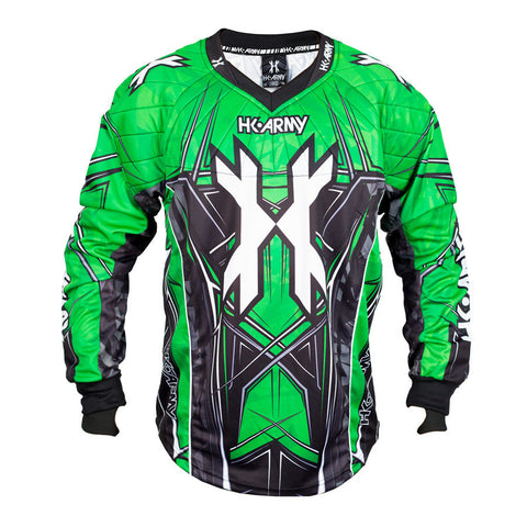 HSTL Line Jersey - Neon Green - Punishers Paintball