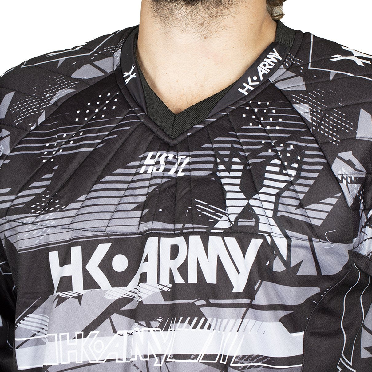 HK Army HSTL Line Jersey - Charcoal - Black/Grey