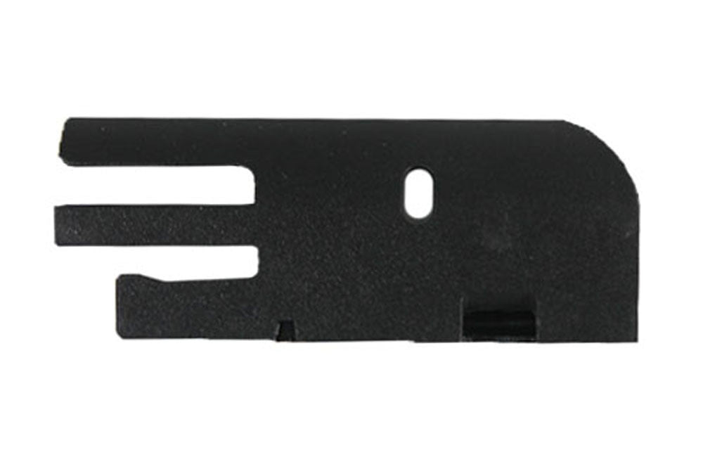 Breech Side Plate, Hurricane, Black - Punishers Paintball