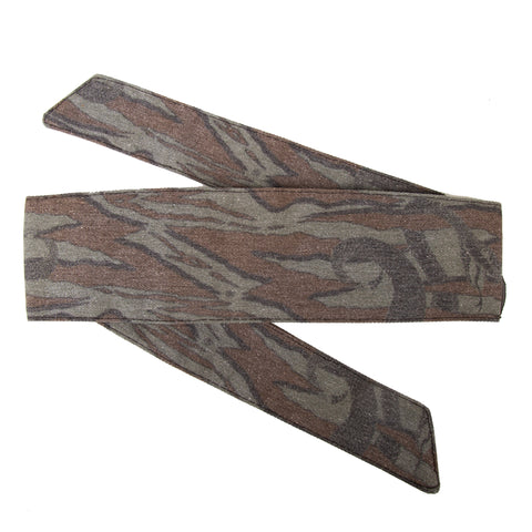 Hostilewear Vintage Headband - Snakes Forest/Brown