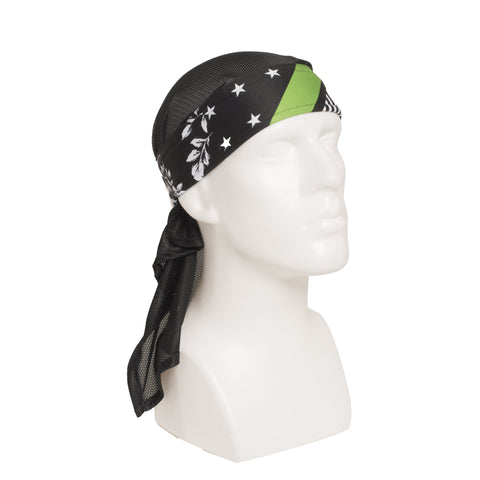 HK Army Reign Green Headwrap