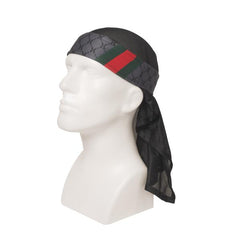 HK Army HH Charcoal Headwrap