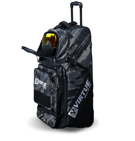 Virtue High Roller Paintball Gear Bag V2 - Gray