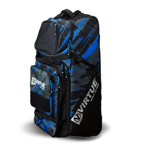 Virtue High Roller Paintball Gear Bag V2 - Cyan