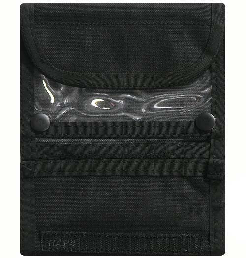 BLACK ID / Map Pouch - Punishers Paintball