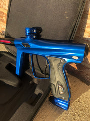Used Shocker RSX Paintball Gun - Polished Blue