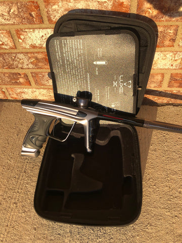 Used DLX Luxe X Paintball Gun - Pewter
