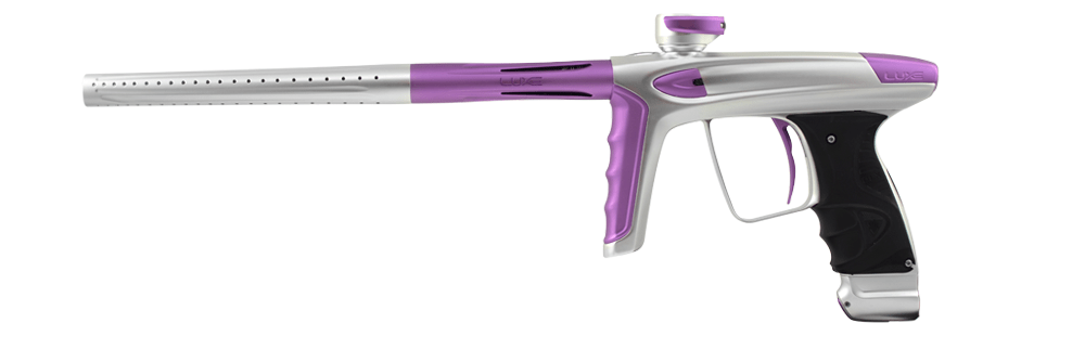 DLX Luxe Ice - White with Pastel Purple