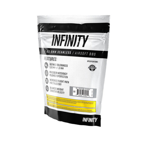 Infinity 0.25g 4000ct Biodegradable Airsoft BBs (1kg)