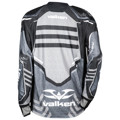 Valken Agility Paintball Jersey V17 - Gray/Black