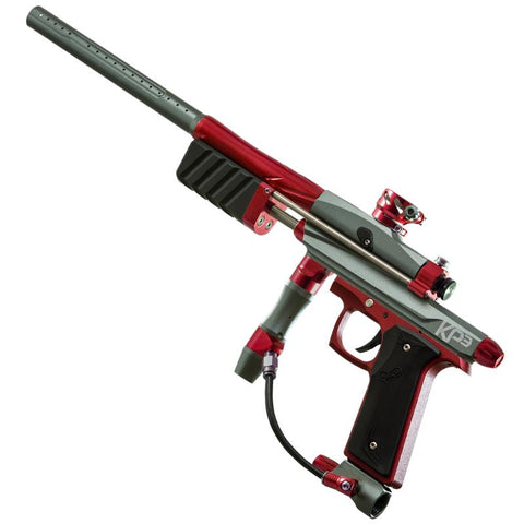 Azodin KP3 Pump Paintball Gun - Titanium/Red