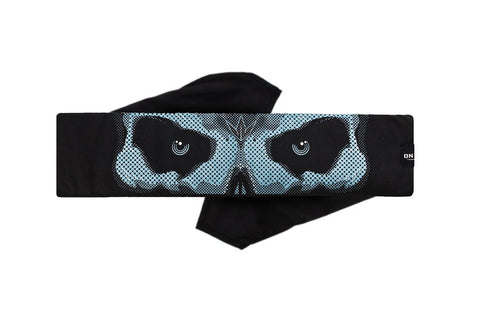 BNKR Bunkerkings King Tie Paintball Headband - Phantom