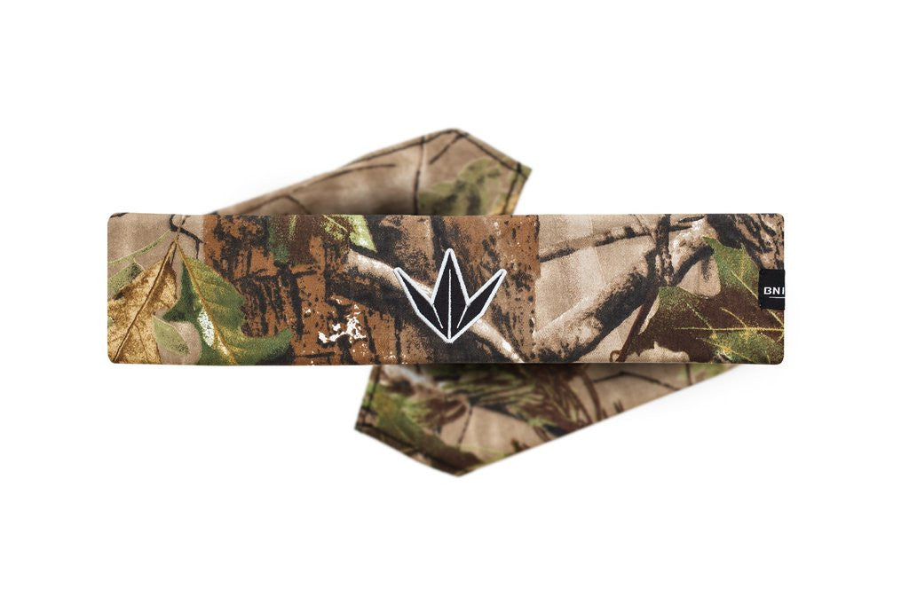 BNKR Bunkerkings King Tie Paintball Headband - Crown Camo