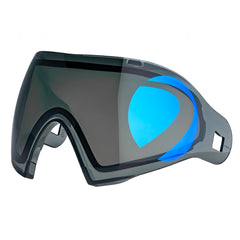 Dye I4/I5 Thermal Paintball Lens - DYEtanium 2D Sphere Smoke/Blue Ice