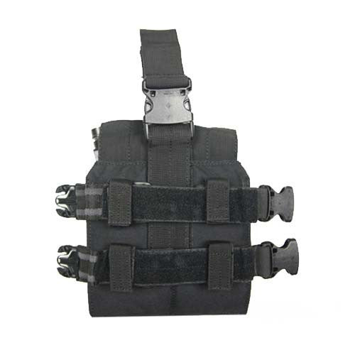 BLACK M4 Magazine Leg Pouch - Punishers Paintball