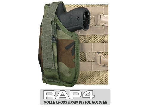 Cross Draw Holster Left Hand Small - Punishers Paintball