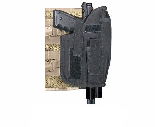 BLACK Cross Draw Holster Right Hand Large - Punishers Paintball