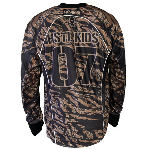 Mr. H Desert Tiger Jersey - Punishers Paintball