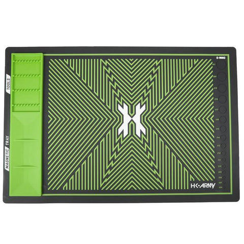 HK Army MagMat - Magnetic Tech Mat - Black/Green