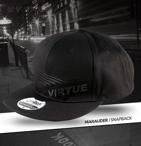 Virtue Marauder Snapback Hat - Black