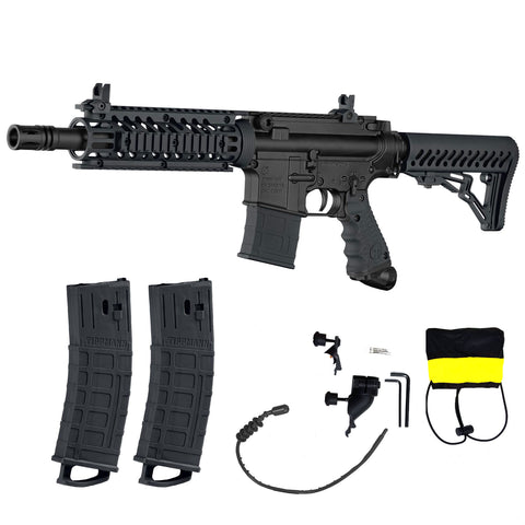 Tippmann TMC Paintball Gun Bundle - Black