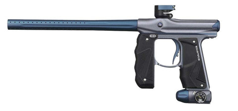 Empire Paintball Mini GS Paintball Marker - Grey/Navy Blue
